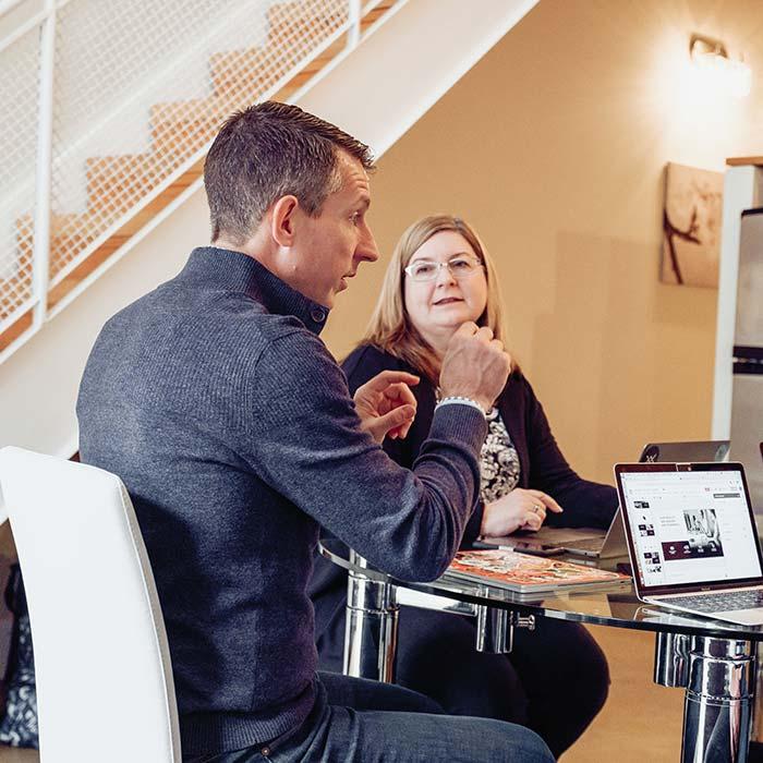 Dan Waldschmidt and Jill Stelfox - co-CEOs of EDGY Inc